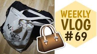 WEEKLY VLOG #69 - Mes affaires pour un week-end à Paris | La Vie En Rousse