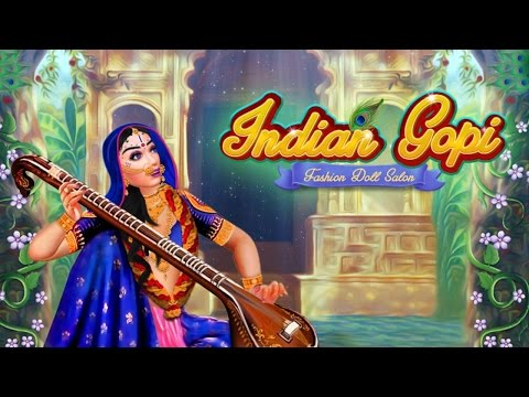 Indian Gopi Fashion Doll Salon -- Indian Gopi, Doll Salon , Salon Makeover Games by Gameiva
