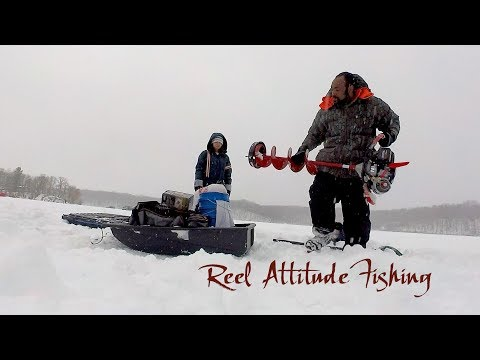 2018 Ice Fishing Northern Wisconsin