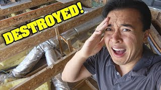 OUR HOUSE IS DESTROYED!!!! House Tour Update!