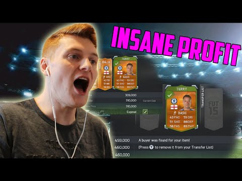 FIFA 15 ULTIMATE TEAM - HOW TO MAKE MILLIONS OF COINS | OVER 100K PROFIT ON ONE PLAYER!!!
