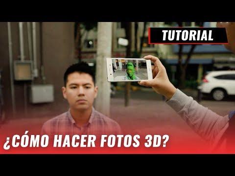 Toma fotos 3D con los smartphones Xperia