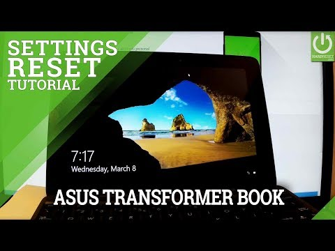 Remove Apps & Settings in ASUS Transformer Book T100 - Refresh Windows