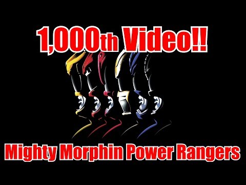 Mighty Morphin Power Rangers | SNES | 1,000th Video Special!