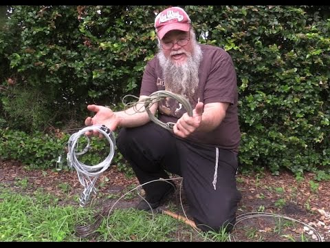 Survival Snares - Large and Small Game Traps - Prepping 101