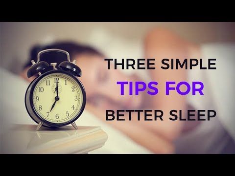 Three simple tips for better sleep || Indian Lifestyle Guide
