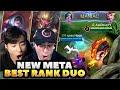 NEW BEST DUO RANK COMBO Ft GOSU HooN Mobile Legends