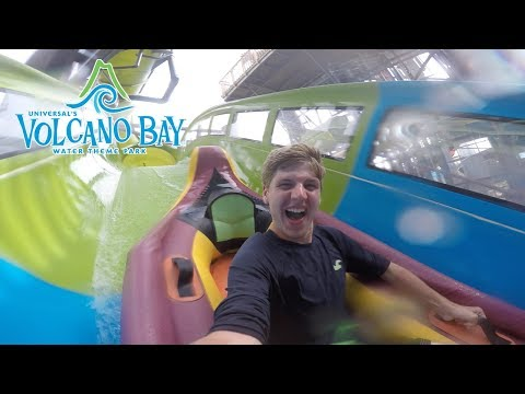 A thrilling day at Universal's Volcano Bay Water Theme Park! | BrandonBlogs