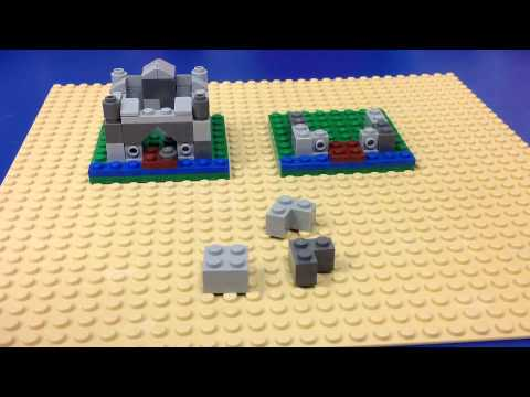 How to Build: A LEGO Micro Castle