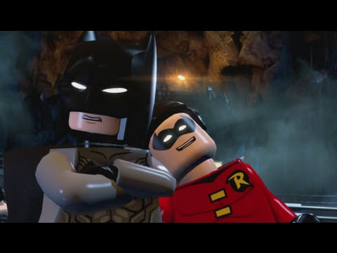 LEGO Batman 3 - 100% Guide #2 - Breaking BATS! (All Collectibles - Minikits, Red Brick, etc)