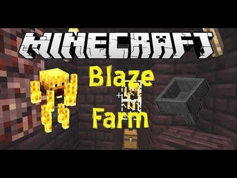 Auto and Semi-Auto Blaze Farm Minecraft Tutorial (Works in 1.8)