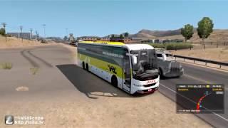 🔴 SETC Volvo Sleeper Bus [ETS2 Indian Bus Mod] | Music Jinni