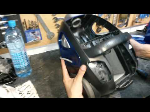 Electrolux ultractive how open and repair