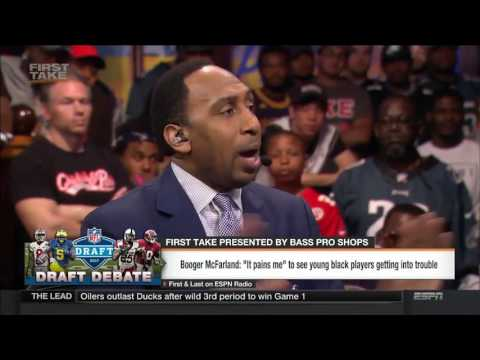 Stephen A. Smith to NFL Players,