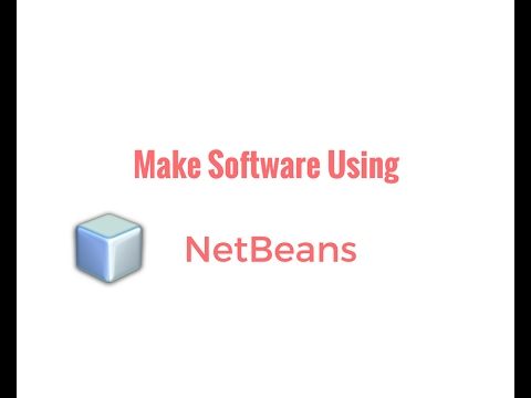 Create simple software using NetBeans(HINDI)