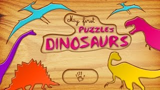 Dinosaurs - A Kid Puzzle Game for Learning Alphabet - Best App For Kids - iPhone/iPad/iPod Touch