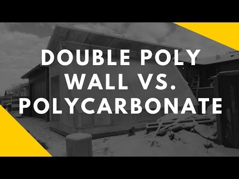Should You Use Double Poly Walls For Passive Solar Greenhouses