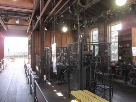 Using an Antique Metal Lathe at Greenfield Village Henry Ford Museum