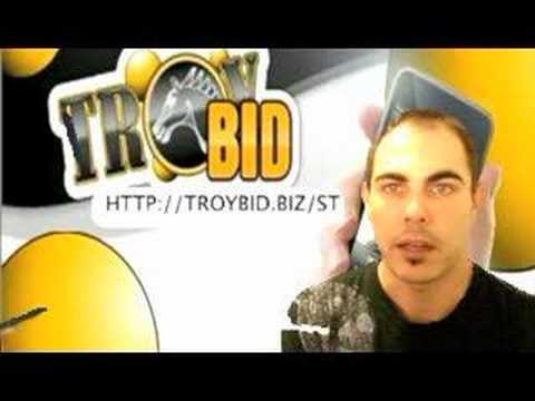 TROYBID LOW-BID REVERSE AUCTIONS 5 FREE BIDS