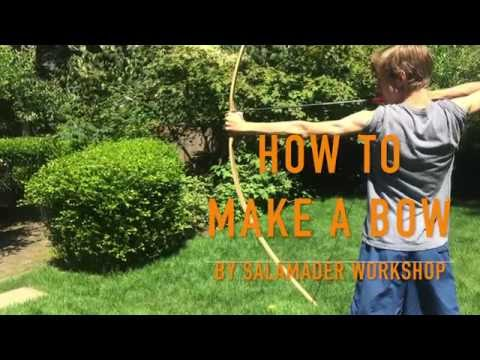 How to make your own powerful bow!