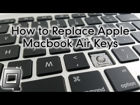 How to Replace Apple Macbook Air Keys