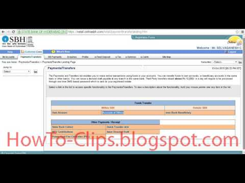 How to Transfer Money from State Bank to Another Bank Online