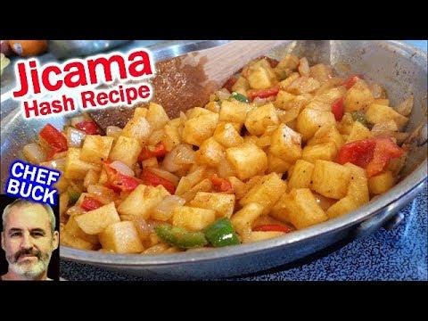 Best Jicama Recipe -- Breakfast Hash with Jicama