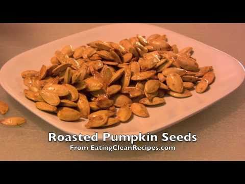 Easy Pumpkin Seeds Recipe EatingCleanRecipes.com