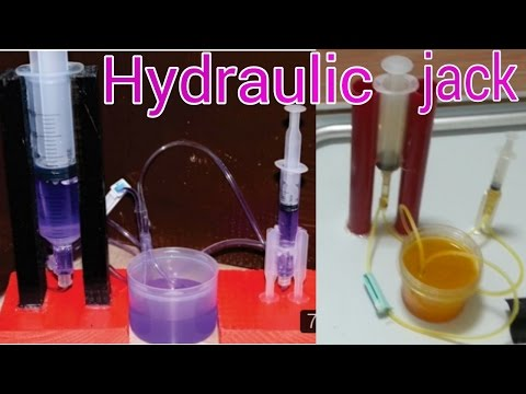 How to make a Powerful Hydraulic jack