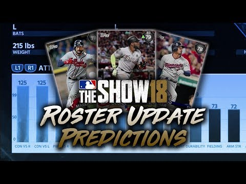 June 22nd Roster Update Predictions! MLB The Show 18 Diamond Dynasty