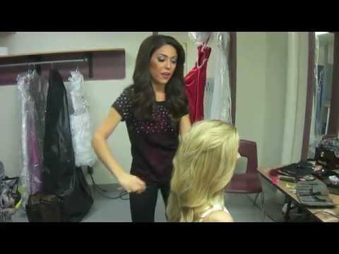 Pageant Hair Tutorial
