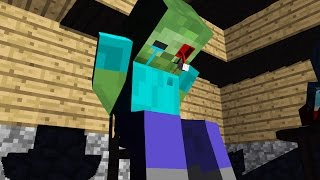 Zombie Torture - Minecraft Animation