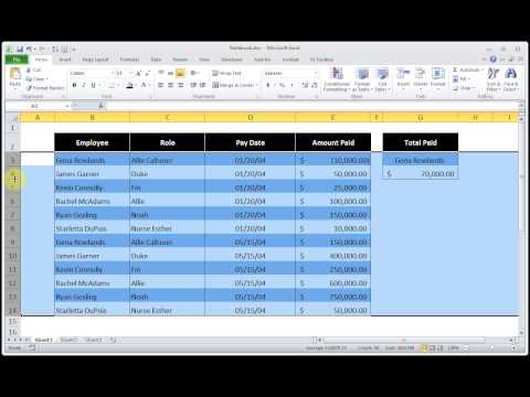 How to Change The Size of Multiple Columns or Rows at Once Microsoft Excel 2010