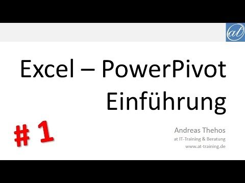 Excel - PowerPivot # 1 - Einführung - Tabellen verknüpfen