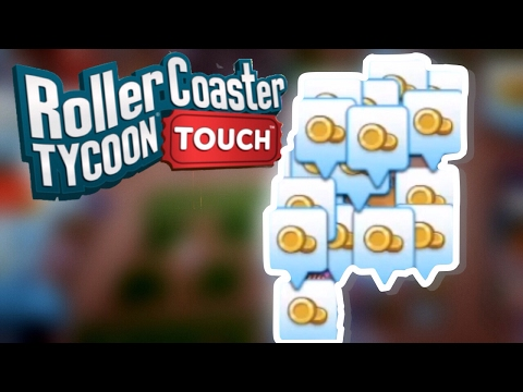 How To Make Money Quickly and Level Up Quickly | RollerCoaster Tycoon Touch | RCT Touch
