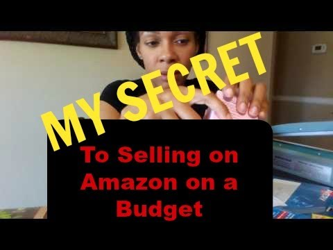 Selling on Amazon | MY SECRET to Selling on Amazon on a Budget