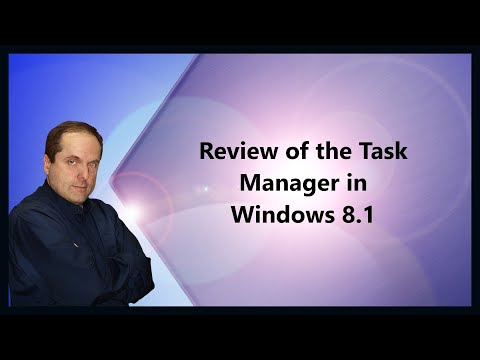 Review of the Task Manager in Windows 8.1