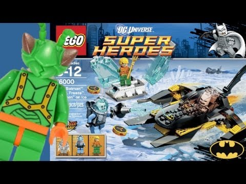 LEGO DC Super Heroes Batman and Aquaman on Ice 76000 Review