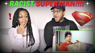 """Racist Superman"" | Rudy Mancuso, King Bach & Lele Pons REACTION!!!"
