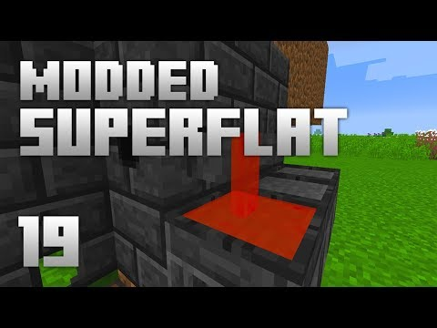 ►Modded Superflat - BLOODY PREP!   Ep. 19   Modded Minecraft Survival◄