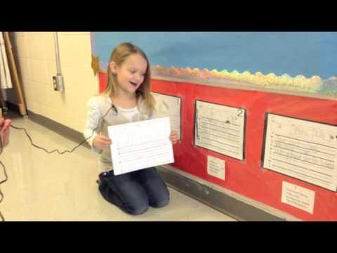 Kindergarten Writing Self Assessment