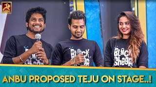 Blacksheep Revamp | Anbu Proposed Teju On Stage | Blacksheep's Adutha 6