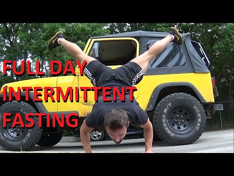 WEED | VITAMIN D | SALMON - Another Typical Full Day of Intermittent Fasting