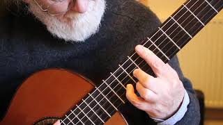 Cavatina [ Theme from ' The Deer Hunter ' ] Guitar Tutorial Part One