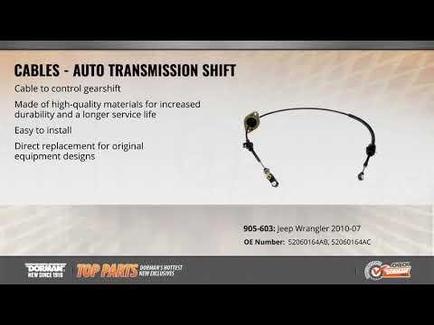 Auto Transmission Shift Cable