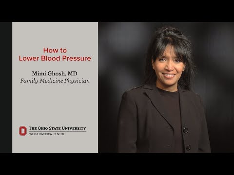 How to lower blood pressure | Ohio State Medical Center