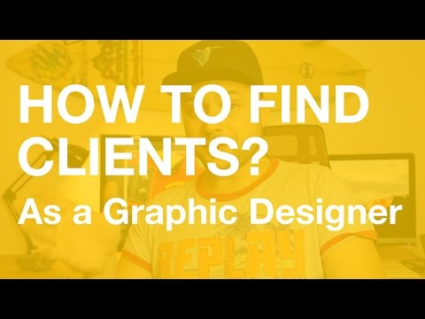 How to find clients online as a graphic designer