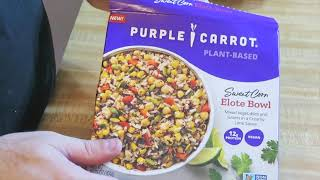 Are Purple Carrot Frozen Prepared Meals Any Good?