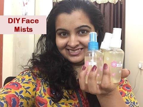 DIY Face Mists | Green tea, Aloe Vera & Rose Water