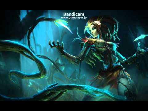 League of Legends - Haunted Zyra loading screen & music